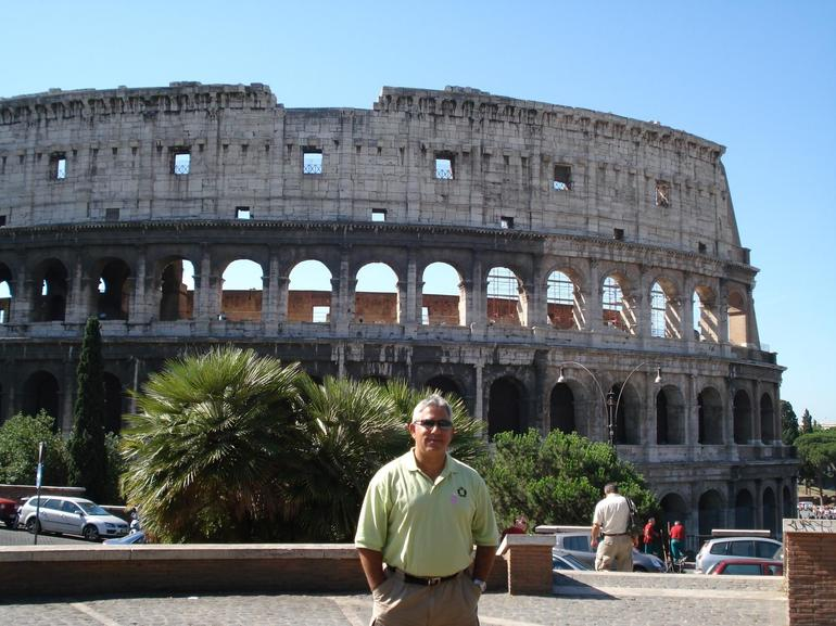 Colosseum Tour Begins - Rome