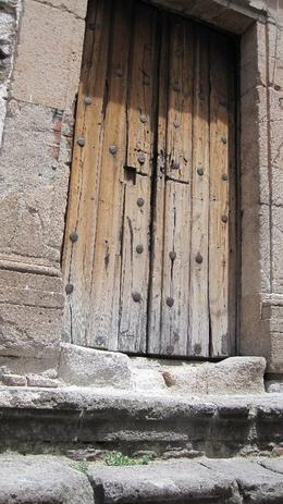 really liked the shot - a random door to a house on the streets of taxco, Alexandra W - September 2010