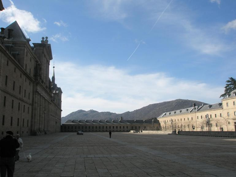 El Escorial - Main entrance - Madrid