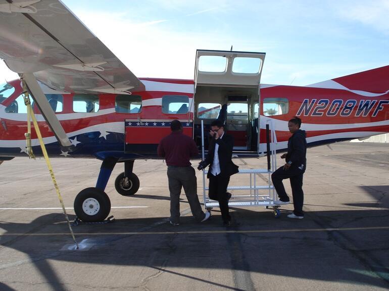 Fixed wing plane - Las Vegas