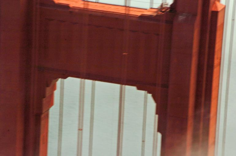 GG Bridge up-close - San Francisco