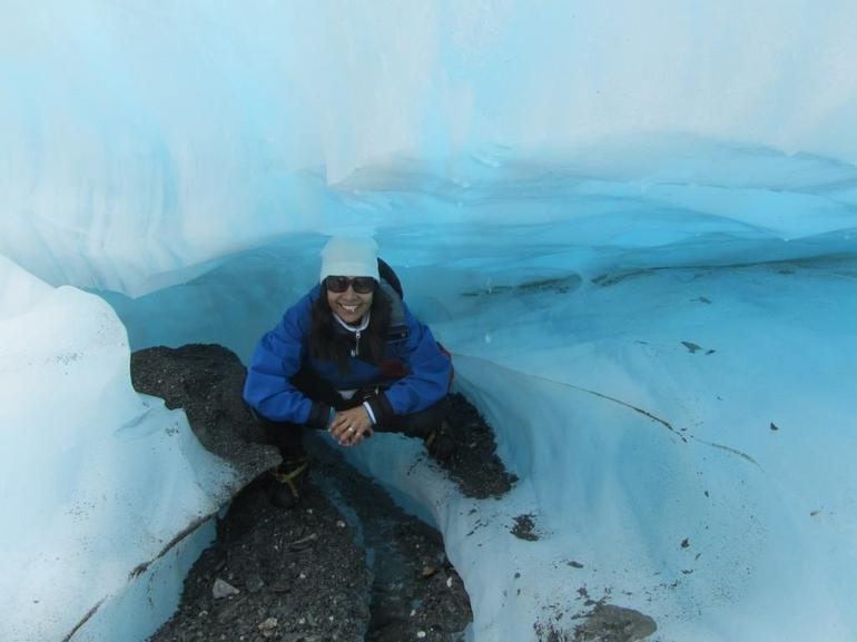 glacier cave - Franz Josef & Fox Glacier