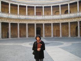 Rachel inside the Alhambra in Spain., Dmitriy M - February 2008