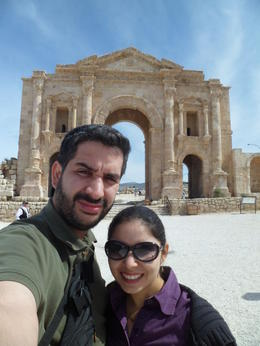 At the Arch of Hadrian , Lorenext - May 2014