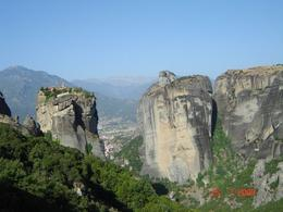 Monasteries situated on the rocks, Olivia Z - August 2009