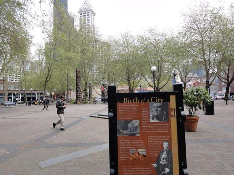 Occidental Park - Seattle