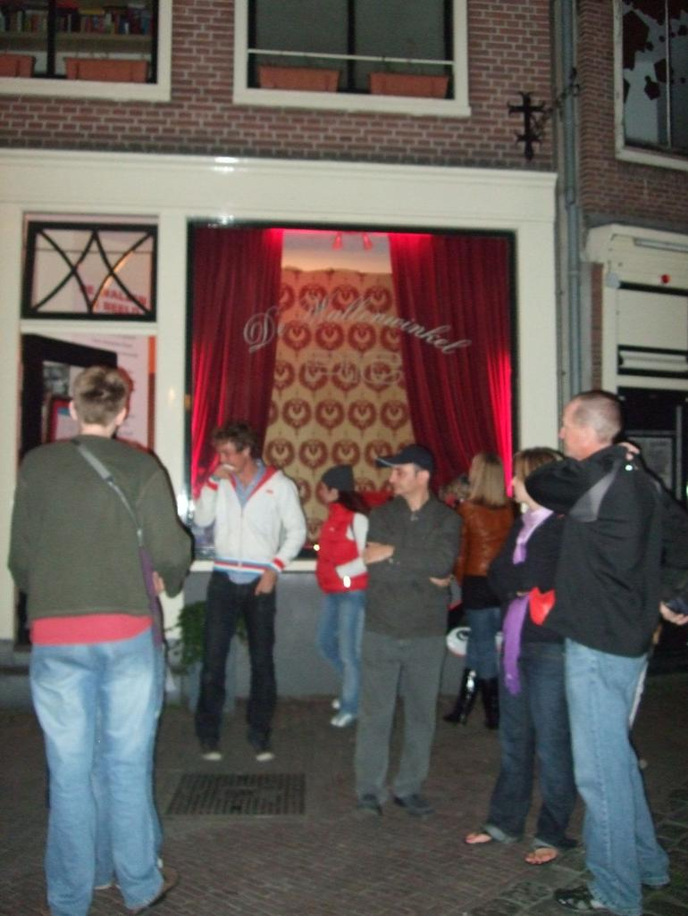 Outside the PIC, Red Light District - Amsterdam