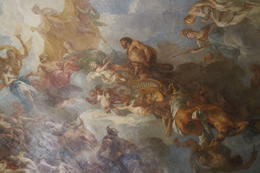 A beautiful painting within Versailles , Ashish P - May 2013