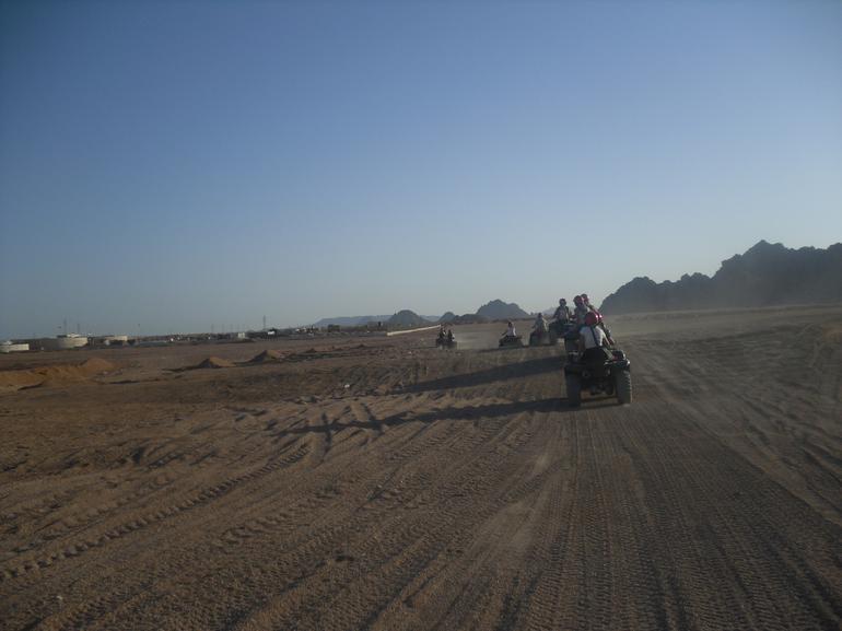 Quad Biking in the Egyptian Desert from Sharm el Sheikh - Sharm el Sheikh
