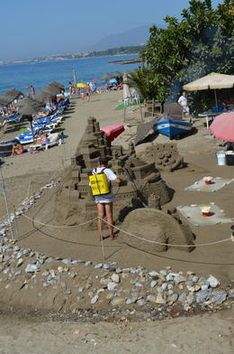 Sand Sculpture, Graham Walker - September 2011