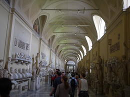 The ancient Greek and Roman statues, Laura All Over - August 2014