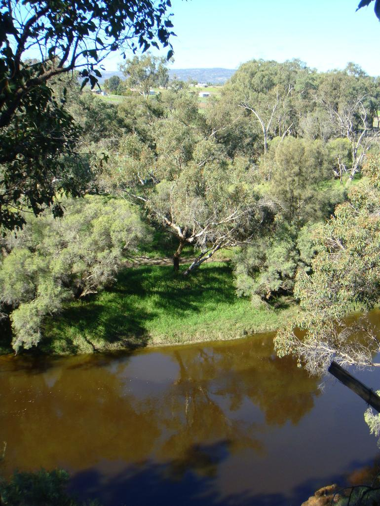 Swan River in Swan Valley - Perth