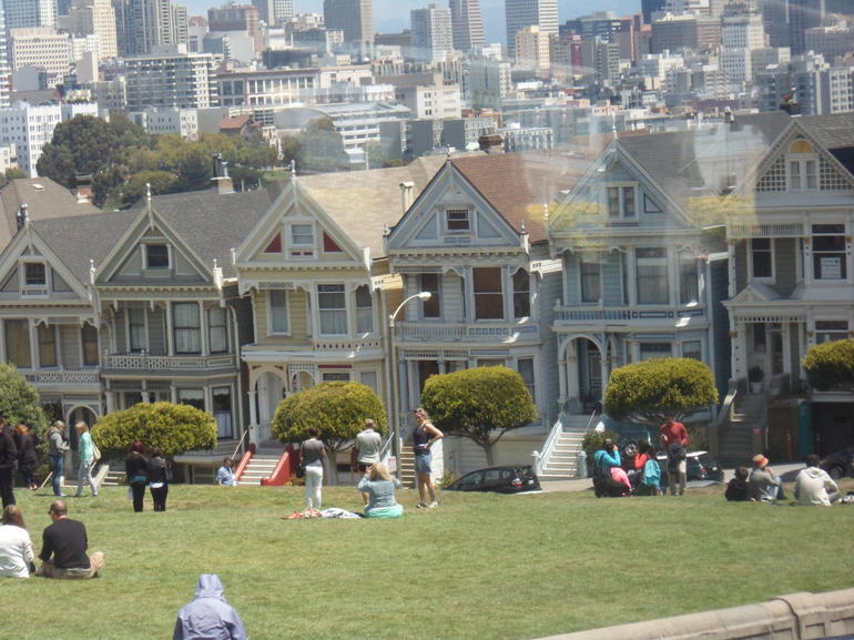 The Painted Ladies, Alamo Square - San Francisco