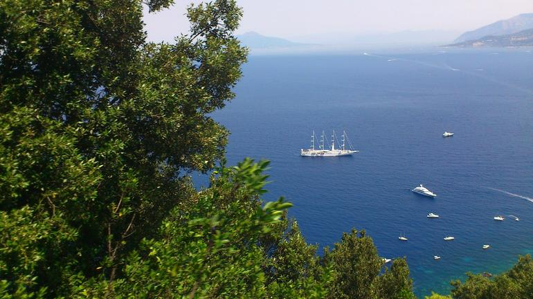 The Sea Around Capri -