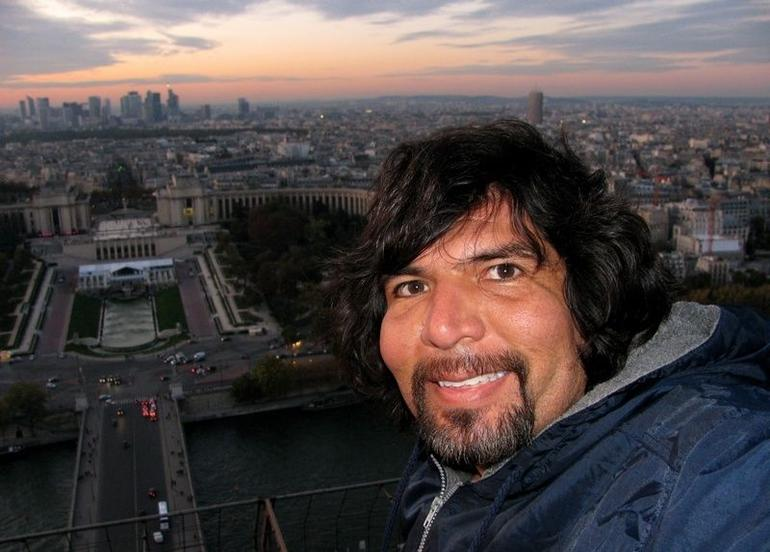view from Eiffel 2nd floor - Paris