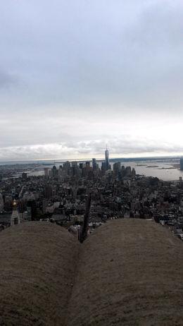 View from the very cold observation deck - December 2014