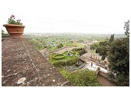 View overlooking gardens of Villa D'Este , Sara - May 2016