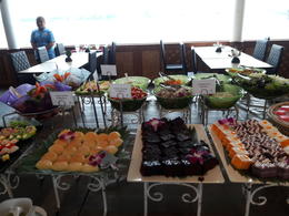 River cruise buffet , Jody - January 2017