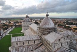 View from the top of the leaning tower. , djcj - June 2017
