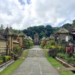 Well-preserved traditional Balinese village , Kelly M - September 2017