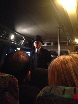 Aboard the bus, Krystal W - October 2013