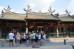 Chinese temple , Michael A. D - October 2014
