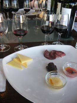 The wines and food pairings., Bandit - June 2012