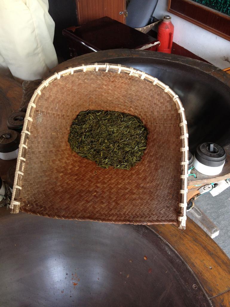 Dried tea leaves - Shanghai