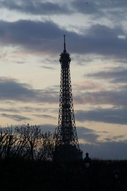 The sky capture my attention - Eifel Tower, Darrell W - December 2009
