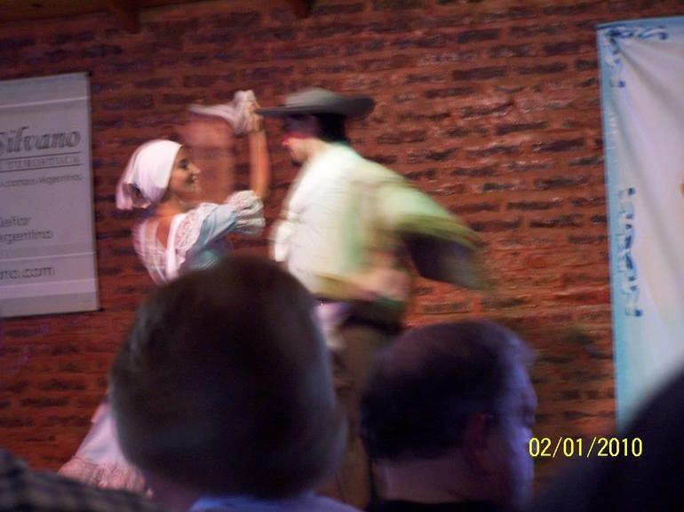 Folk Dancing - Buenos Aires