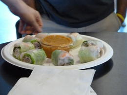 Spring roll/wrap , Lars Peter F - August 2014