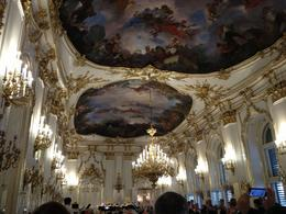 Image of the white and gold room before the concert, view from B seating. , Janet W - August 2013