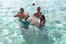 Bora Bora snorkeling, Stephen H - August 2011
