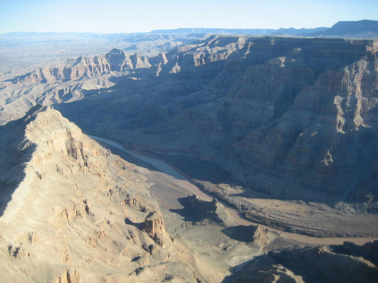 Inside the canyon - Las Vegas