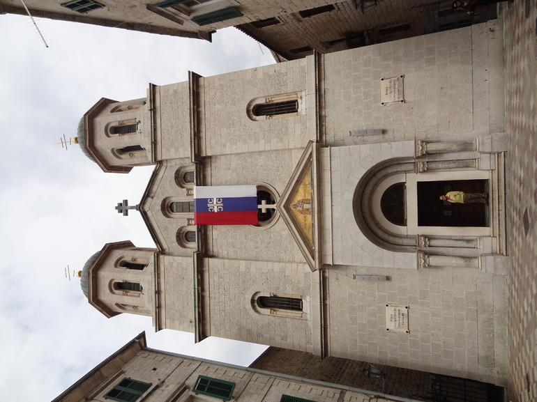 Serbia Church at Kotor - Dubrovnik