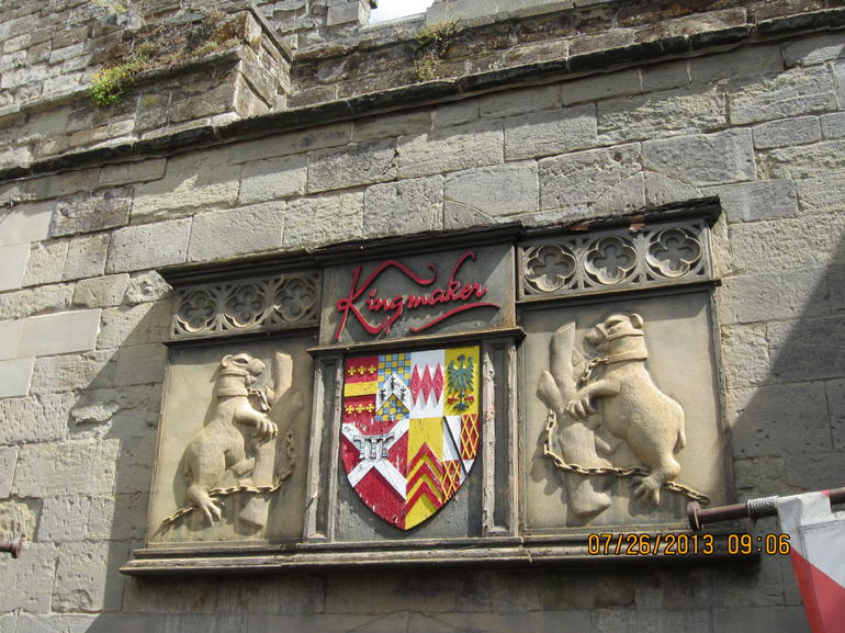shields above castle - London