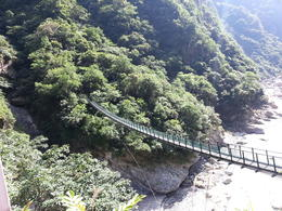 Suspension Bridge in Taroko Gorge , ANDREW W - June 2013