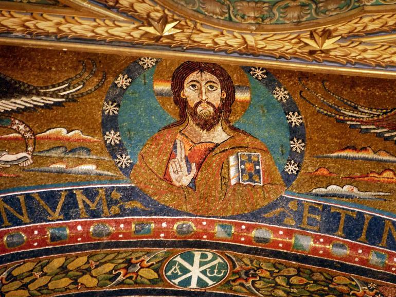 The basilica San Clemente. - Rome