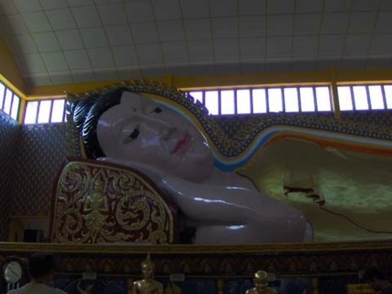The Reclining Buddha - Penang