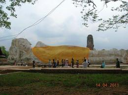 In Wat Lokoyasutharam holds one of the largest reclining Buddha which was built during the early period of the Ayutthaya regime. , TARA NATH R - May 2011
