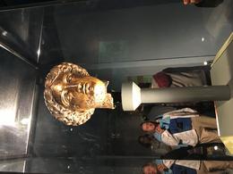 The goddess at the Roman baths at Bath , marcirus1 - June 2017