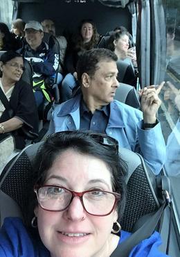 inside the van , Heather M - July 2017