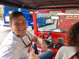 This is Chris our tour guide - he was AWESOME! , Mary Ann - November 2017