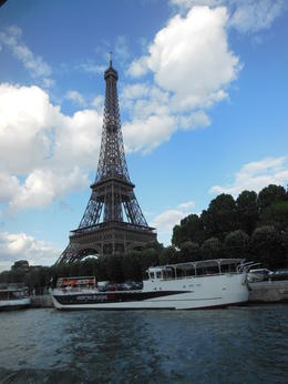 Eiffel Tower on the river cruise , Michael L - June 2012