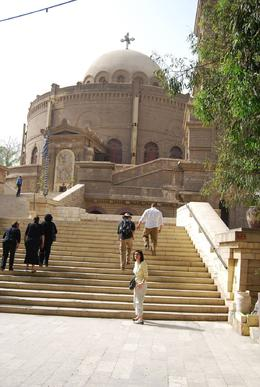 One of the oldest Coptic churches in Egypt, Mon B - April 2010