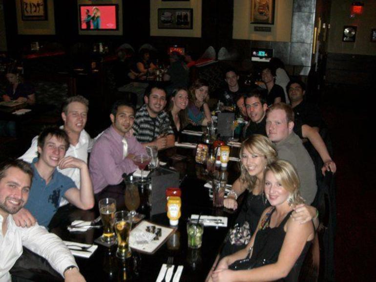 At Hard Rock Cafe - Las Vegas