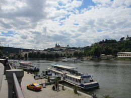 Bootsfahrt auf der Moldau in Prag , Regina H - July 2015