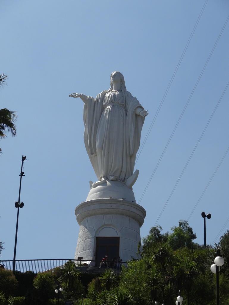 Cerro San Cristobal - Santiago
