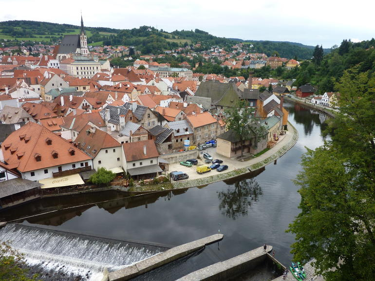 Cesky Krumlov - Prague