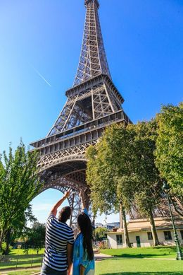 Our first Eiffel Tower experience , Michele A - September 2015